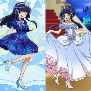 キュアぱず青木れいかほしくずドレス☆3青木れいかなでしこシンデレラ☆4