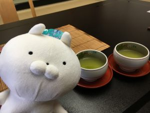 秋保温泉の緑水亭部屋つばき館和室お茶うさまる