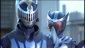 仮面ライダー龍騎とナイト