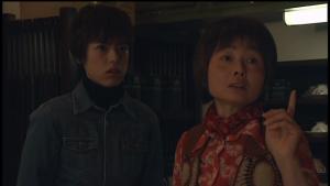 仮面ライダー龍騎神崎優衣とおばさん