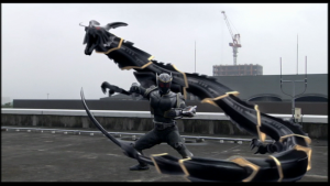 仮面ライダー龍騎ドラゴンライダーキックリュウガ