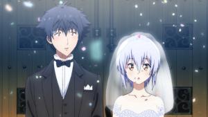 刹那と久音の結婚式