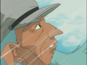 勇者特急マイトガイン17話「完成バトルボンバー」ウォルフガング博士