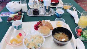 旅行秋保温泉緑水亭の朝食バイキング