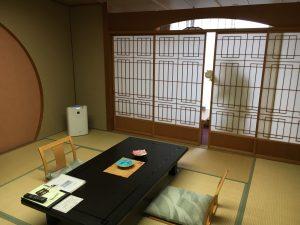 秋保温泉の緑水亭部屋つばき館和室うさまる