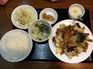 安くて美味しいボリュームがある中華料理店[川香菜房]の回鍋肉定食