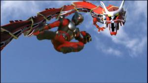 仮面ライダー龍騎ドラゴンライダーキック