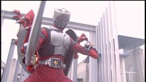仮面ライダー龍騎ドラグセイバーとドラグシールド装備