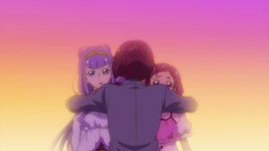 HUGっとプリキュアはなとルールーとママ