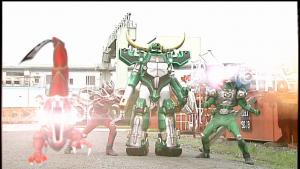 仮面ライダー龍騎とゾルダ