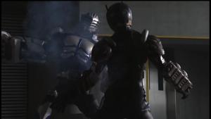 仮面ライダー龍騎オルタナティブを倒すタイガ