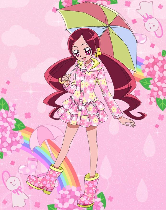 花咲つぼみフラワーフリルコート