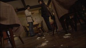 仮面ライダーカブト天道VS矢車