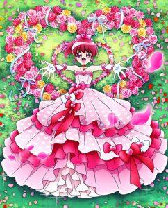 愛乃めぐみハピネスハートドレス