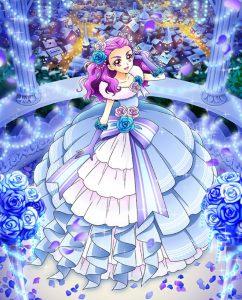 美々野くるみブルーローズクラシカルドレス