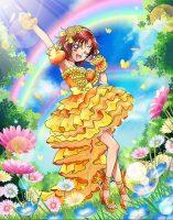 日野あかねオレンジサニーフレアドレス