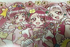 プリキュア色紙ART3