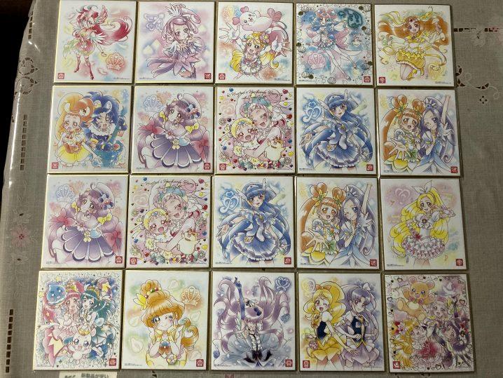 プリキュア色紙ART5